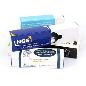 Cendriers de poche en carton Cardbox personnalisés