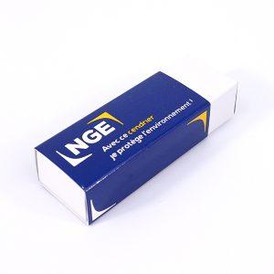 Cendrier de poche en carton Cardbox personnalisé