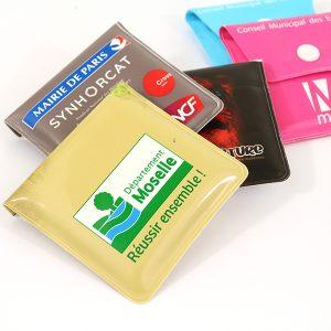 Cendrier de poche en plastique pochette personnalisé, plusieurs couleurs disponibles