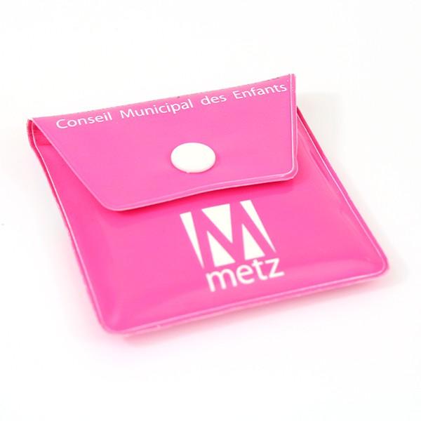 Cendrier de poche pochette en plastique personnalisé