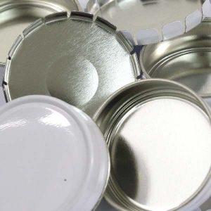 cendrier métal recyclé et recyclable